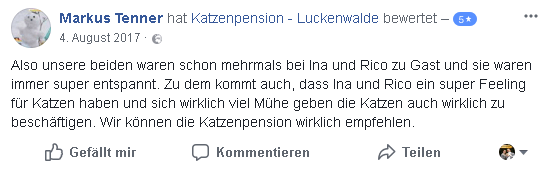 Alternative Zum Tierheim in ihrer Region Berlin Gatow - Bewertung 11 min - TIERHEIM in der NÄHE - TIERPENSION - KATZENBETREUUNG - KATZENHOTEL - TIERHEIM in MEINER NÄHE - KATZENSITTER